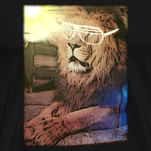 Lion Shades - Men's Premium T-Shirt