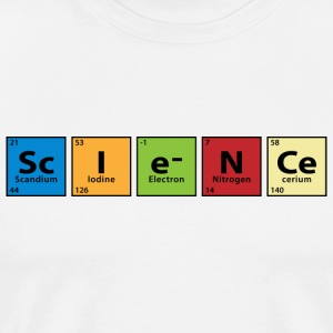 Periodic Table Science T-Shirts - Men's Premium T-Shirt