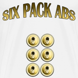 six pack abs - Men's Premium T-Shirt