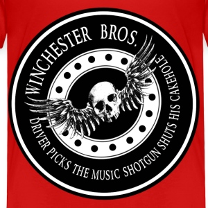 Winchester Bros Driver picks the music shotgun shu Toddler Shirts - Toddler Premium T-Shirt