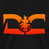 Design ~ MENS TEE: DotaCinema red logo black