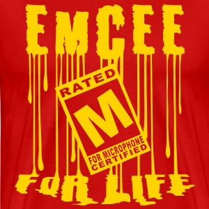 Emcee for Life Mens Tee - Men's Premium T-Shirt