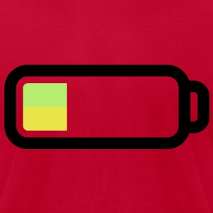 empty_battery T-Shirts - Men's T-Shirt by American Apparel