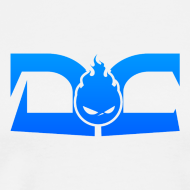 Design ~ MENS TEE: DotaCinema logo white