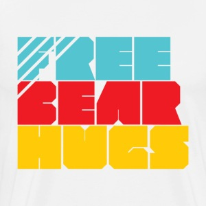 Free Bear Hugs - Men's Premium T-Shirt