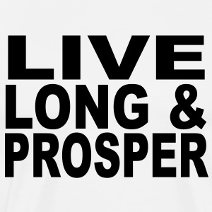 Live long & Prosper t-shirt design T-Shirts - Men's Premium T-Shirt
