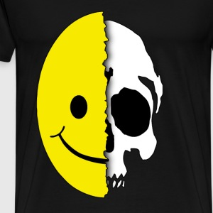Shreaded Smiley - Men's Premium T-Shirt