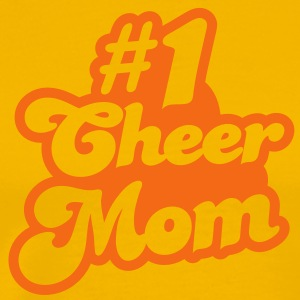 #1 cheer mom number one T-Shirts - Men's Premium T-Shirt