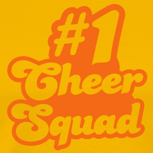 #1 cheer squad number one T-Shirts - Men's Premium T-Shirt