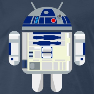 R2D2 Android - Men's Premium T-Shirt