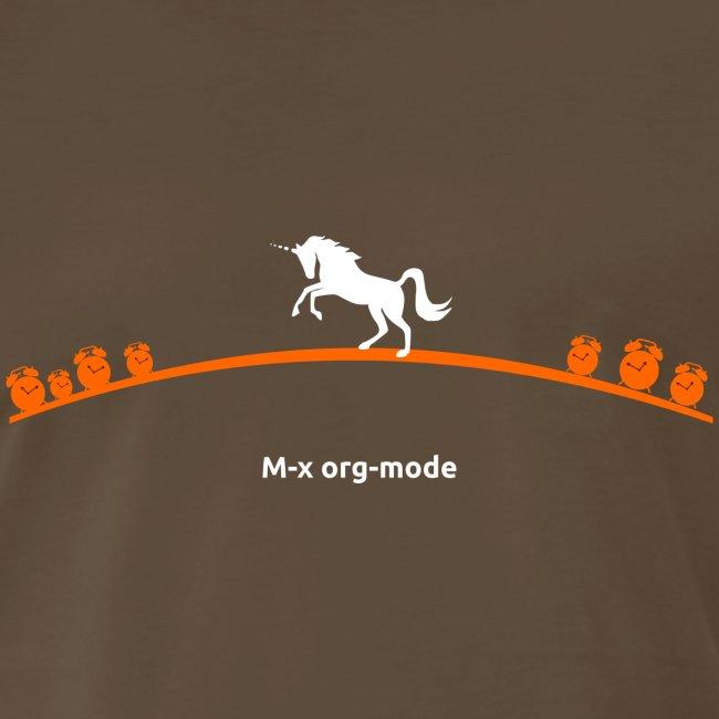 M-x org-mode ;; heavyweight