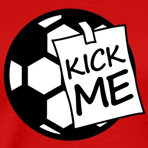 kick_me_ball T-Shirts - Men's Premium T-Shirt