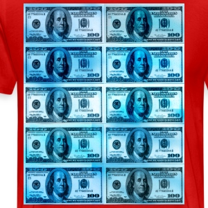 1000 dollar pop art - Men's Premium T-Shirt