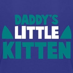 DADDY's LITTLE KITTEN Kids' Shirts