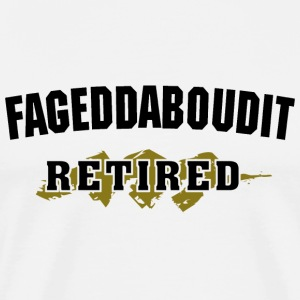 Funny Retired T-Shirt - Men's Premium T-Shirt