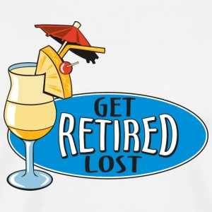 Retired Get Lost T-Shirt - Men's Premium T-Shirt