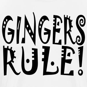 Gingers Rule t-shirt T-Shirts - Men's Premium T-Shirt