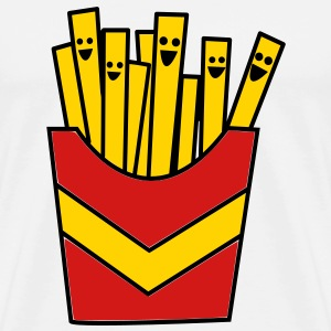 French Fries / Chips T-Shirts - Men's Premium T-Shirt