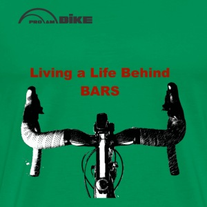 Cycling T Shirt - Life Behind Bars - Men's Premium T-Shirt