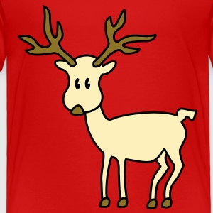 reindeer Toddler Shirts - Toddler Premium T-Shirt