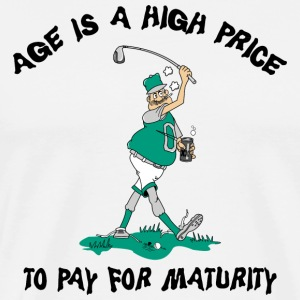 Funny Golf Grandpa T-Shirt - Men's Premium T-Shirt