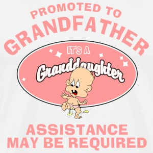 Funny New Grandfather T-Shirt - Men's Premium T-Shirt
