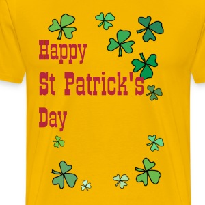 Happy St Patrick's Day, in Shemrok's  - Men's Premium T-Shirt