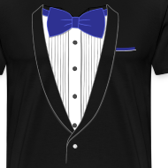 Design ~ Tuxedo T Shirt Classic Navy Tie