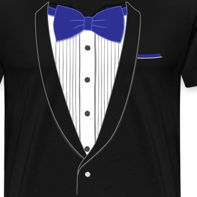 Tuxedo T Shirt Classic Navy Tie