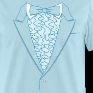 Design ~ Tuxedo T Shirt Deluxe Blue