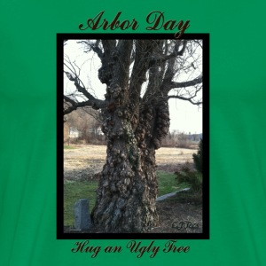 Arbor Day - Hug an Ugly Tree - Men's Premium T-Shirt
