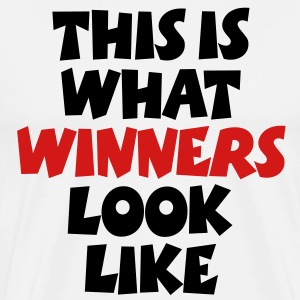 This is what winners look like plus size t-shirt - Men's Premium T-Shirt