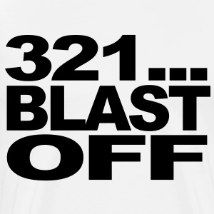 321...Blast Off T-Shirts - Men's Premium T-Shirt
