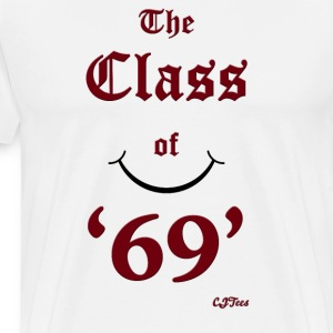 The Class of '69' maroon - cheaper! - Men's Premium T-Shirt