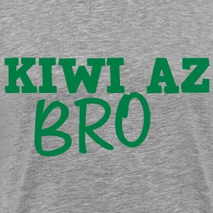KIWI AZ BRO (New Zealand) T-Shirts - Men's Premium T-Shirt