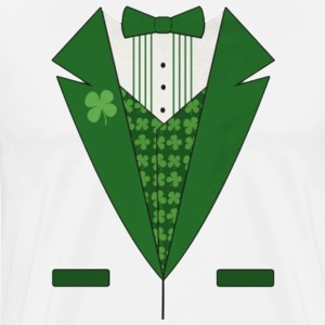 Green Tux T-Shirts - Men's Premium T-Shirt