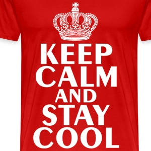 Keep Calm & Stay Cool T-Shirt - Men's Premium T-Shirt