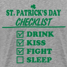 Goon - St. Patrick's Day Checklist (Clean) - Men's