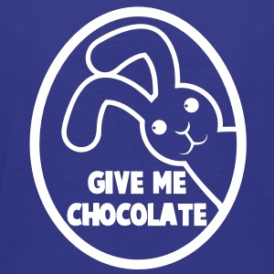 EASTER GIVE ME CHOCOLATE floppy bunny rabbit Toddler Shirts - Toddler Premium T-Shirt