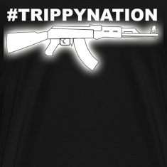 #TrippyNation AK47 Juicy J  T-Shirts