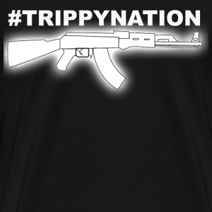 #TrippyNation AK47 Juicy J  T-Shirts - Men's Premium T-Shirt