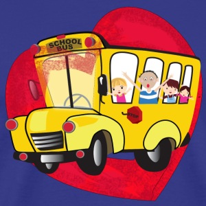 School Bus - Men's Premium T-Shirt