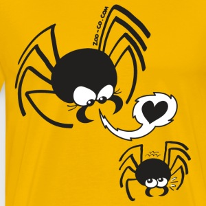 Dangerous Spider Love T-Shirts - Men's Premium T-Shirt