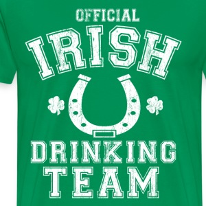 Official irish drinking team - Men's Premium T-Shirt