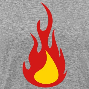 Flame (2c)++ T-Shirts - Men's Premium T-Shirt
