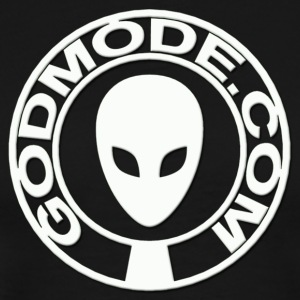 Godmode - White Shield - Men's Premium T-Shirt