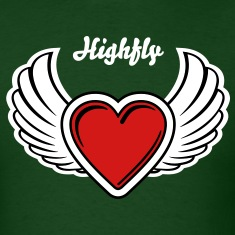 Winged Valentine's Heart 3_3c T-Shirts