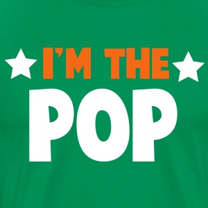new i'm the pop family label design T-Shirts - Men's Premium T-Shirt
