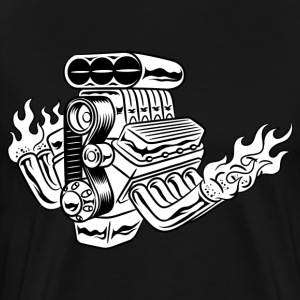 Hot Rod HD Design T-Shirts - Men's Premium T-Shirt
