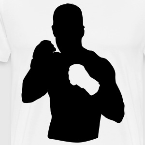 MMA HD VECTOR T-Shirts - Men's Premium T-Shirt